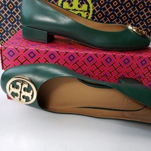 Tory Burch Benton Ballet Nappa Leather Flats 9M